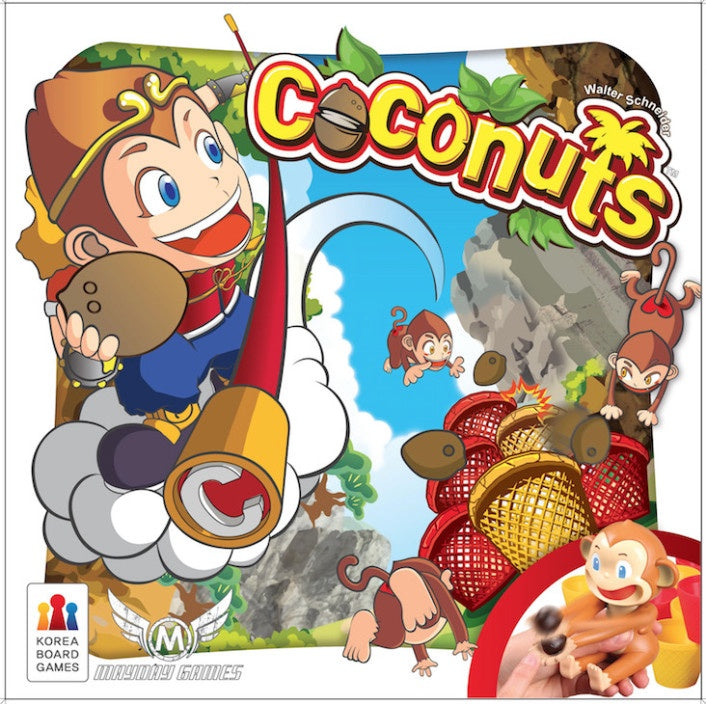 Coconuts 4 Player Monkey Dexterity Game | Guf