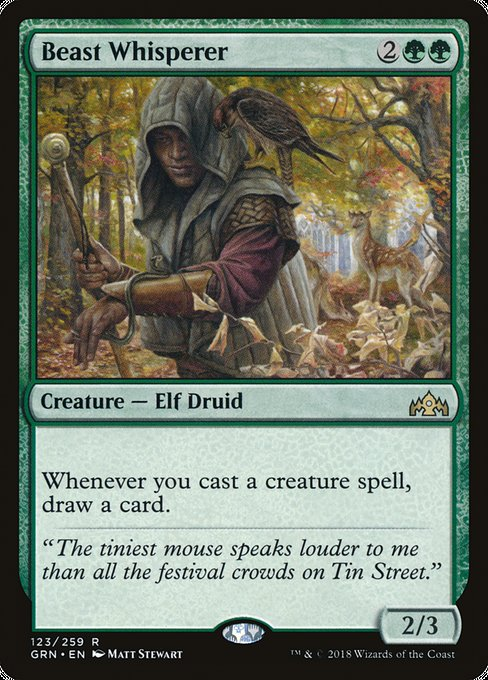 Beast Whisperer [Guilds of Ravnica]
