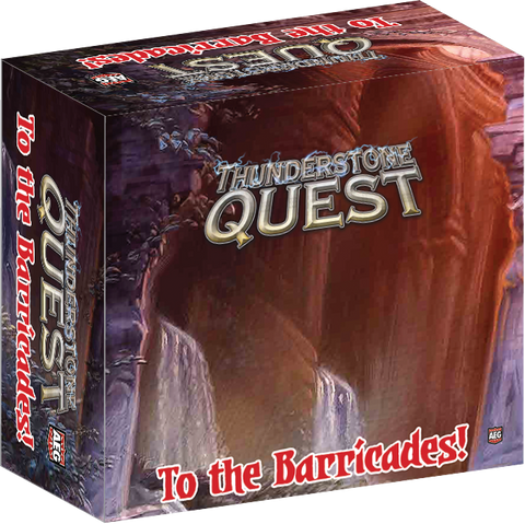 Kickstarter Thunderstone Quest Back to the Dungeon Champion + Barricades