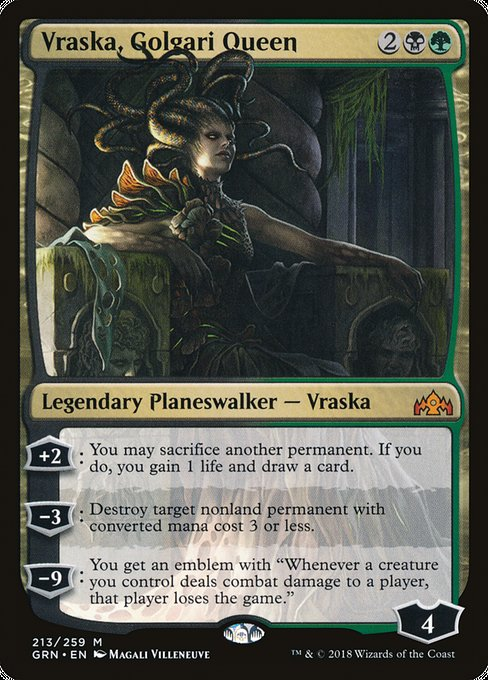 Vraska, Golgari Queen [Guilds of Ravnica] | Guf