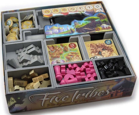 Folded Space Game Inserts - Five Tribes