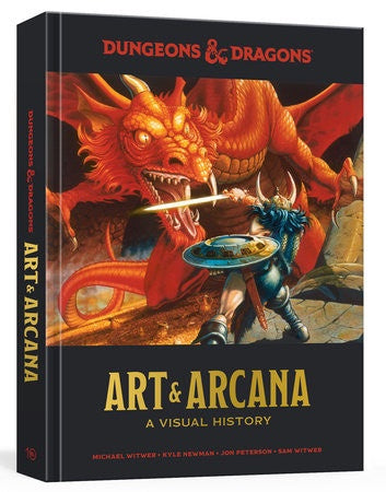 Dungeons and Dragons Art and Arcana Hardback Edition