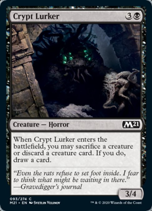 Crypt Lurker [Core Set 2021] | Guf