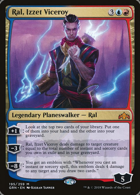 Ral, Izzet Viceroy [Guilds of Ravnica]