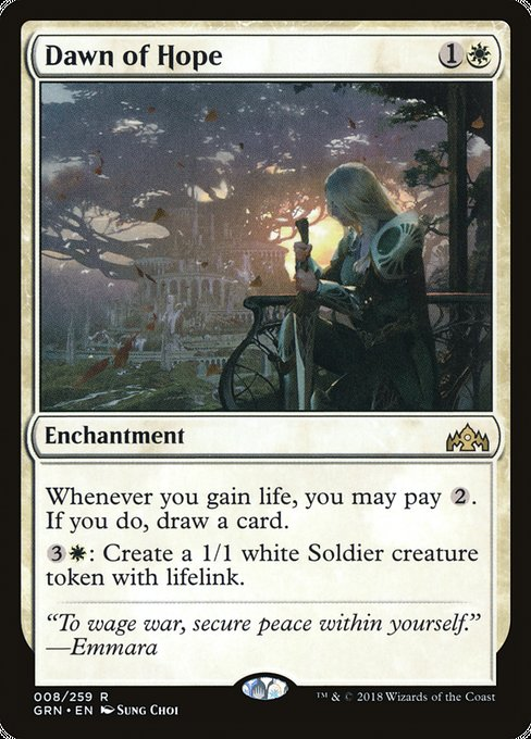 Dawn of Hope [Guilds of Ravnica]