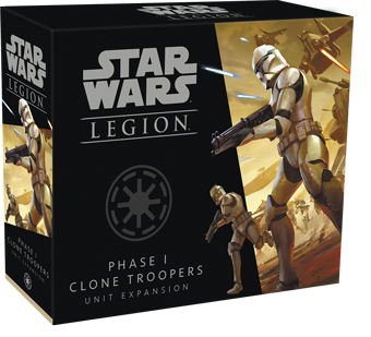 Star Wars Legion - Phase I Clone Troppers Unit Expansion | Guf
