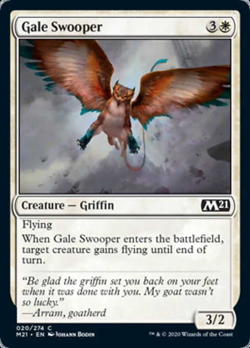 Gale Swooper [Core Set 2021] | Guf