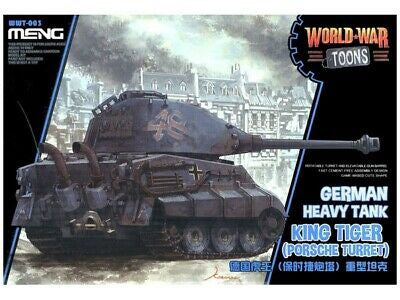 Meng SD World War Toons KING TIGER PORSCHE TURRET | Guf