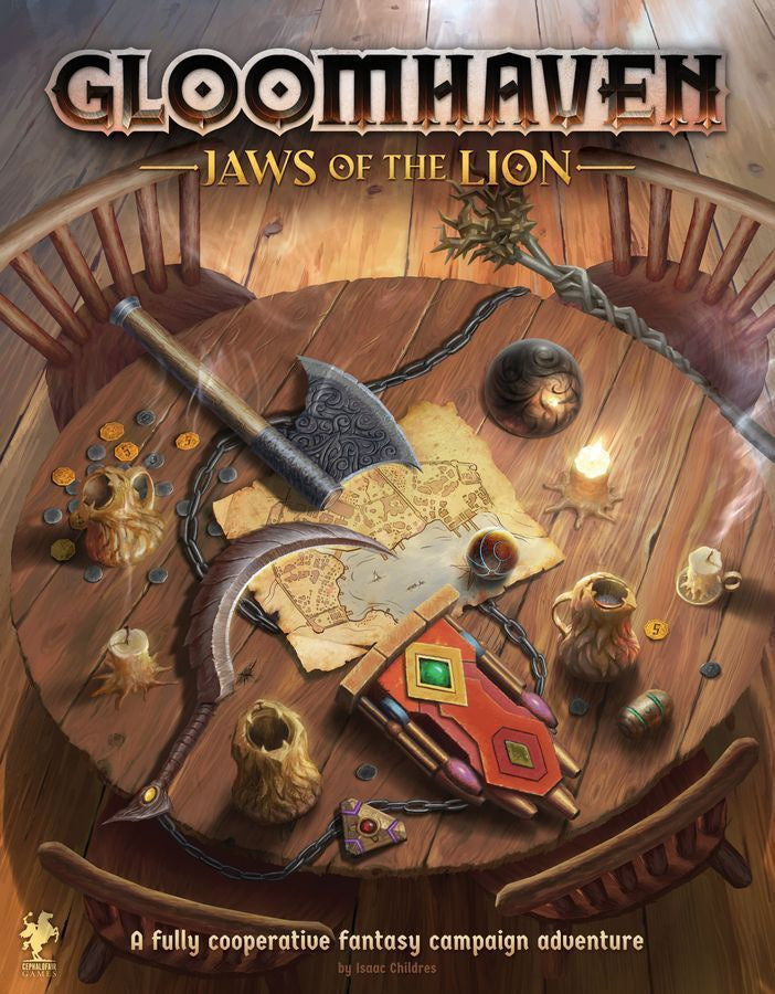 Gloomhaven Jaws of the Lion | Guf