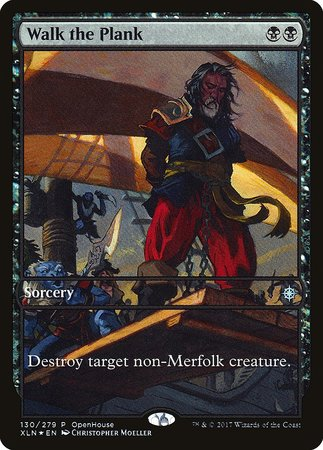 Walk the Plank [Ixalan Promos] | Guf