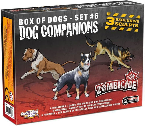Zombicide Companion Dogs Box Set 6