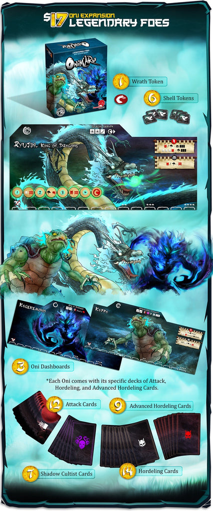 Kickstarter Onimaru Legendary Foes Add On