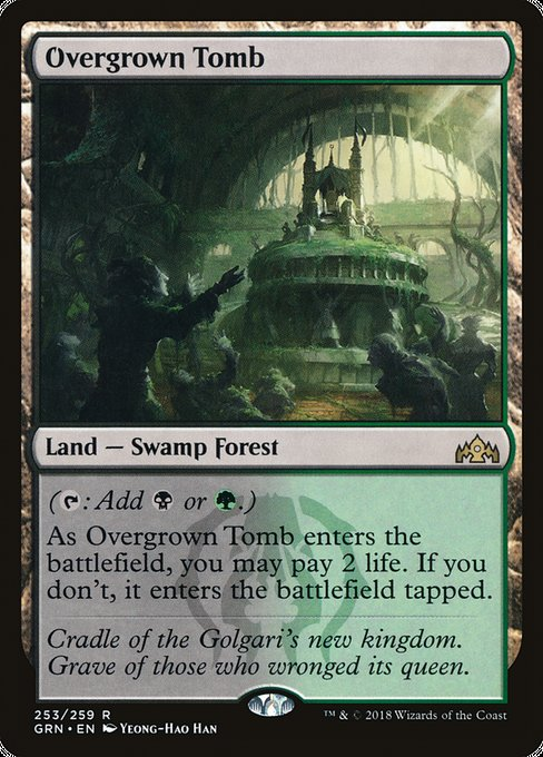 Overgrown Tomb [Guilds of Ravnica] | Guf