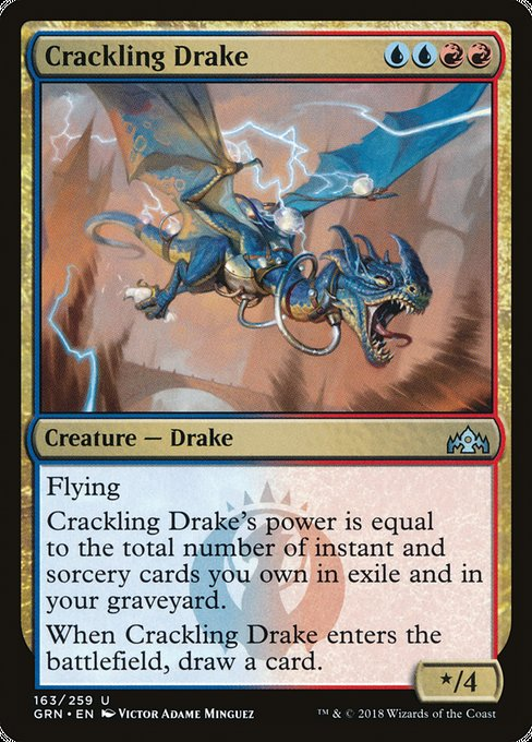 Crackling Drake [Guilds of Ravnica]