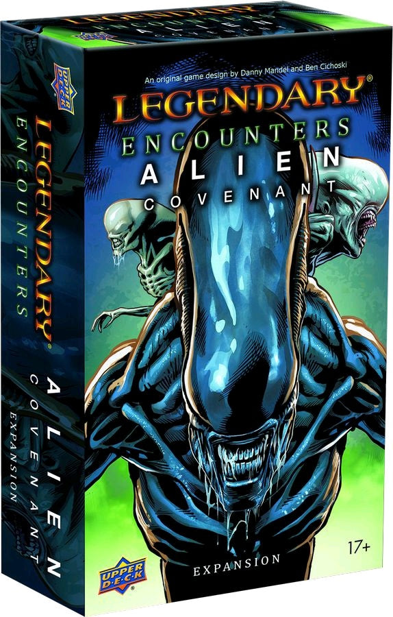 Legendary Encounters - Alien Covenant Deck-Building Game Expansion | Guf