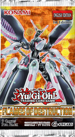 Yu-Gi-Oh Flames of Destruction Booster