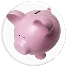 Load image into Gallery viewer, Amazon.com: Pink Piggie Bank Money Box - PopSockets Grip and Stand for Phones and Tablets: Cell Phones & Accessories - NJExpat