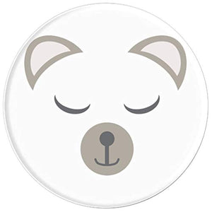 Amazon.com: Animal Faces Series (Bear) - PopSockets Grip and Stand for Phones and Tablets: Cell Phones & Accessories - NJExpat