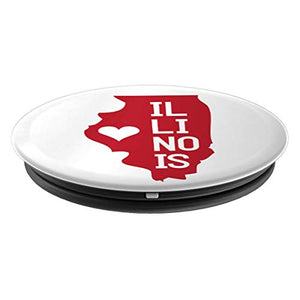Amazon.com: Commonwealth States in the Union Series (Illinois) - PopSockets Grip and Stand for Phones and Tablets: Cell Phones & Accessories - NJExpat