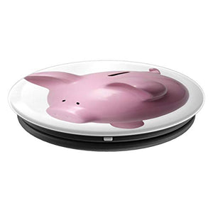 Amazon.com: Pink Piggie Bank Money Box - PopSockets Grip and Stand for Phones and Tablets: Cell Phones & Accessories - NJExpat