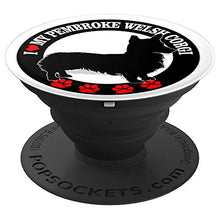 Load image into Gallery viewer, Amazon.com: I Love Heart My Pembroke Welsh Corgi - PopSockets Grip and Stand for Phones and Tablets: Cell Phones & Accessories - NJExpat