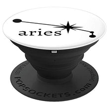 Load image into Gallery viewer, Amazon.com: Astrology Zodiac Calendar Series (Aries) - PopSockets Grip and Stand for Phones and Tablets: Cell Phones & Accessories - NJExpat