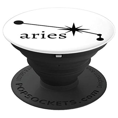 Amazon.com: Astrology Zodiac Calendar Series (Aries) - PopSockets Grip and Stand for Phones and Tablets: Cell Phones & Accessories