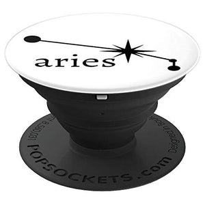 Amazon.com: Astrology Zodiac Calendar Series (Aries) - PopSockets Grip and Stand for Phones and Tablets: Cell Phones & Accessories - NJExpat