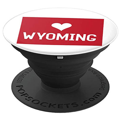 Amazon.com: Commonwealth States in the Union Series (Wyoming) - PopSockets Grip and Stand for Phones and Tablets: Cell Phones & Accessories - NJExpat