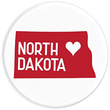 Load image into Gallery viewer, Amazon.com: Commonwealth States in the Union Series (North Dakota) - PopSockets Grip and Stand for Phones and Tablets: Cell Phones & Accessories - NJExpat