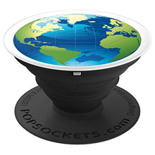 Load image into Gallery viewer, Amazon.com: Cartography World Globe Map - PopSockets Grip and Stand for Phones and Tablets: Cell Phones & Accessories - NJExpat