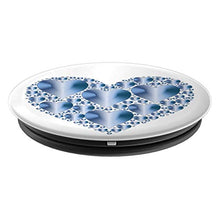 Load image into Gallery viewer, Amazon.com: Baby Blue Hearts Pop Socket, feel the love all the time. - PopSockets Grip and Stand for Phones and Tablets: Cell Phones & Accessories - NJExpat