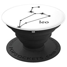 Load image into Gallery viewer, Amazon.com: Astrology Zodiac Calendar Series (Leo) - PopSockets Grip and Stand for Phones and Tablets: Cell Phones & Accessories - NJExpat