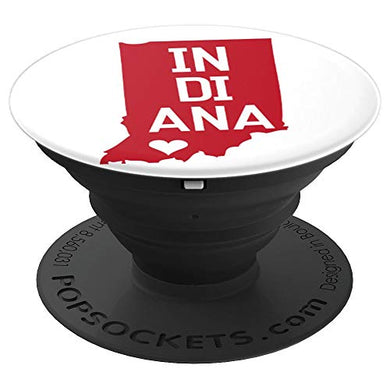 Amazon.com: Commonwealth States in the Union Series (Indiana) - PopSockets Grip and Stand for Phones and Tablets: Cell Phones & Accessories