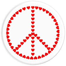 Load image into Gallery viewer, Amazon.com: Love Hearts In Peace Design - PopSockets Grip and Stand for Phones and Tablets: Cell Phones & Accessories - NJExpat