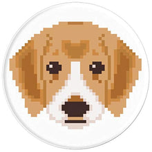 Load image into Gallery viewer, Amazon.com: Cute Pixelated Puppy Design - PopSockets Grip and Stand for Phones and Tablets: Cell Phones & Accessories - NJExpat