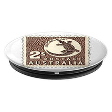 Load image into Gallery viewer, Amazon.com: Crocodile of Australia Stamp Design - PopSockets Grip and Stand for Phones and Tablets: Cell Phones & Accessories - NJExpat
