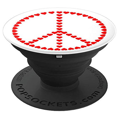 Amazon.com: Love Hearts In Peace Design - PopSockets Grip and Stand for Phones and Tablets: Cell Phones & Accessories - NJExpat