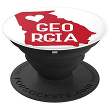 Load image into Gallery viewer, Amazon.com: Commonwealth States in the Union Series (Georgia) - PopSockets Grip and Stand for Phones and Tablets: Cell Phones & Accessories - NJExpat