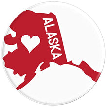 Load image into Gallery viewer, Amazon.com: Commonwealth States in the Union Series (Alaska) - PopSockets Grip and Stand for Phones and Tablets: Cell Phones & Accessories - NJExpat