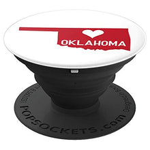 Load image into Gallery viewer, Amazon.com: Commonwealth States in the Union Series (Oklahoma) - PopSockets Grip and Stand for Phones and Tablets: Cell Phones & Accessories - NJExpat