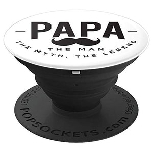 Amazon.com: Papa, The Men, The Myth, a Legend! - PopSockets Grip and Stand for Phones and Tablets: Cell Phones & Accessories - NJExpat