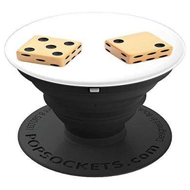 Amazon.com: White Pair Of Dice - PopSockets Grip and Stand for Phones and Tablets: Cell Phones & Accessories - NJExpat