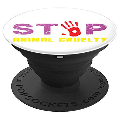 Amazon.com: Stop Animal Cruelty - PopSockets Grip and Stand for Phones and Tablets: Cell Phones & Accessories - NJExpat