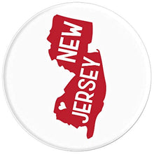 Load image into Gallery viewer, Amazon.com: Commonwealth States in the Union Series (New Jersey) - PopSockets Grip and Stand for Phones and Tablets: Cell Phones & Accessories - NJExpat