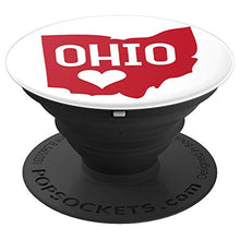 Load image into Gallery viewer, Amazon.com: Commonwealth States in the Union Series (Ohio) - PopSockets Grip and Stand for Phones and Tablets: Cell Phones & Accessories - NJExpat
