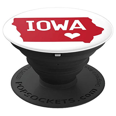 Amazon.com: Commonwealth States in the Union Series (Iowa) - PopSockets Grip and Stand for Phones and Tablets: Cell Phones & Accessories
