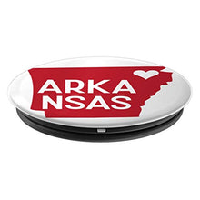 Load image into Gallery viewer, Amazon.com: Commonwealth States in the Union Series (Arkansas) - PopSockets Grip and Stand for Phones and Tablets: Cell Phones & Accessories - NJExpat