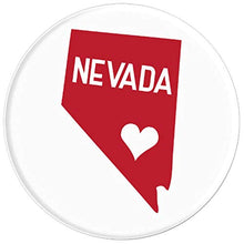 Load image into Gallery viewer, Amazon.com: Commonwealth States in the Union Series (Nevada) - PopSockets Grip and Stand for Phones and Tablets: Cell Phones & Accessories - NJExpat