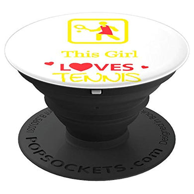 Amazon.com: This Girl Loves Tennis! - PopSockets Grip and Stand for Phones and Tablets: Cell Phones & Accessories - NJExpat